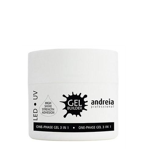 Andreia Gel Builder Transparente/Leitoso, 40ml