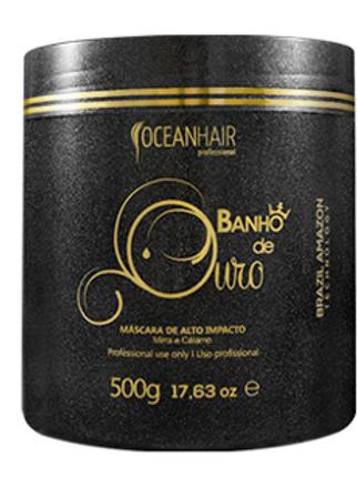 MÁSCARA DE BANHO DE OURO, 500g