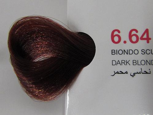 Coloração em Creme EXTREMO, Cor Louro Escuro Vermelho Acobreado, 6.64 100ml