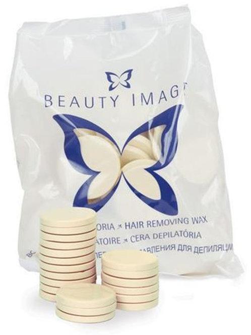 Beauty Image Cera Disco Branca 1kg.