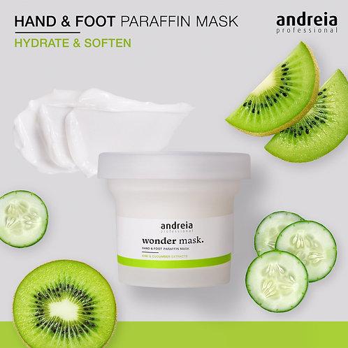 Andreia Wonder Mask, Máscara Parafina Mãos & Pés 200g