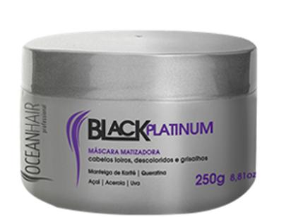 MÁSCARA MATIZADORA BLACK PLATINUM, 250G