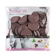 Cera em Disco Pollie Chocolate, 1Kg