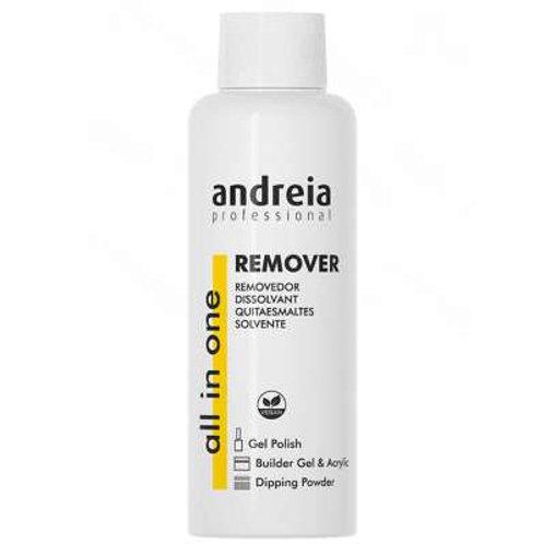 Andreia All in One Removedor de Verniz Gel, 250 ml