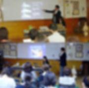 日野小学校で講演 / 家庭教育講演