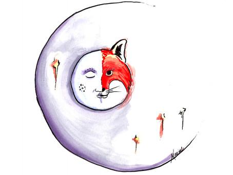 Le conte de la lune rouge