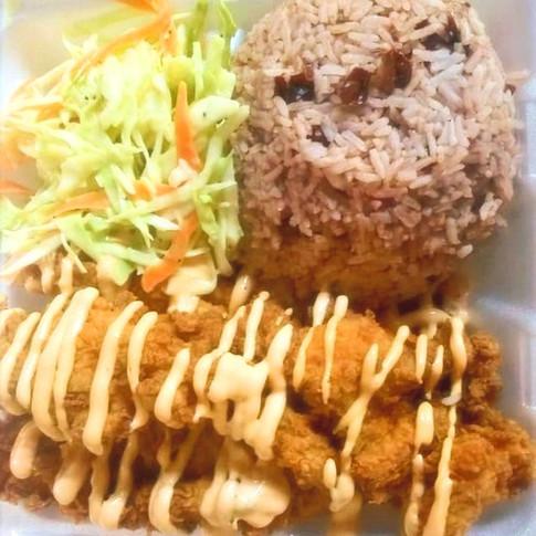 Rice & Peas | rhythm bar & grill