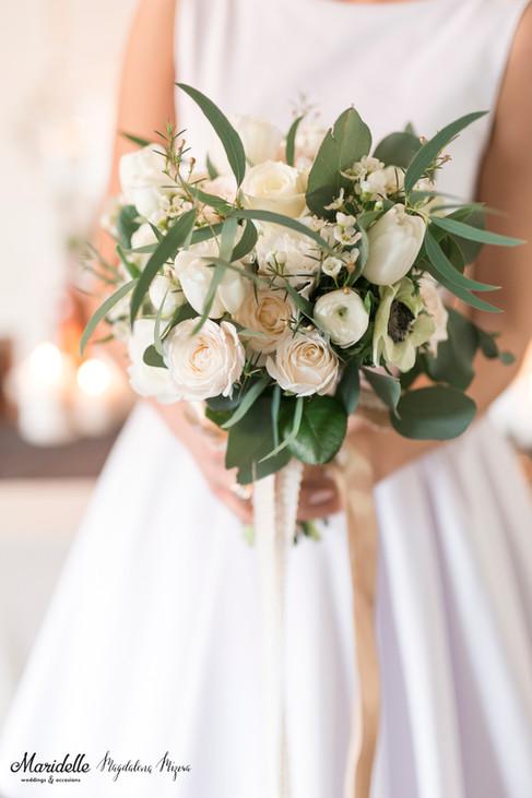 bukiet kwiatowy w stylu boho