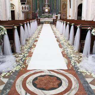 pełna dekoracja kościoła