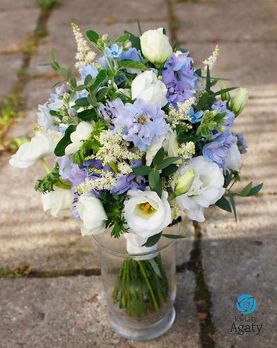 bukiet slubny pracownia florystyczna war