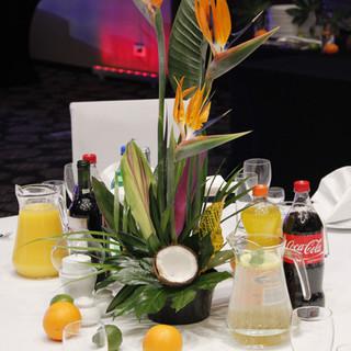 kwiaty na event w stylu afrykańskim
