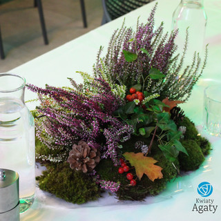 dekoracja eko jesienna