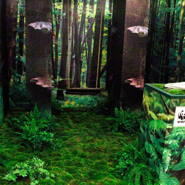 scenografia zielona dla firm