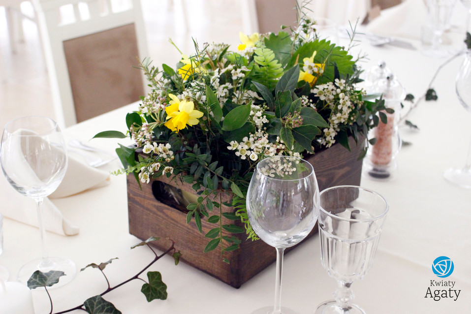 dekoracje weselne w stylu eko