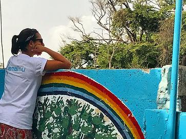 bénévole kiamalou au sénégal école solidaire