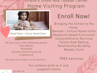 Home Visiting Program Enroll Now!!!