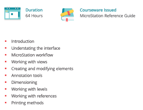 MicroStation-course - Exponiq Engineering