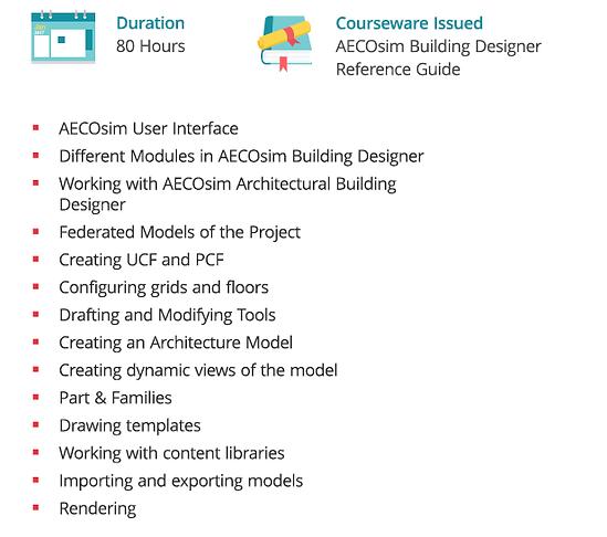 AECOsim-course - Exponiq Engineering