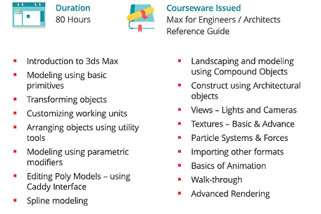 3DS MAX-course- Exponiq Engineering