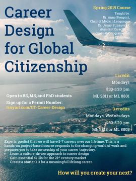 Career Design for Global Citizenship-Spr