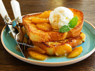 APPLE TURNOVER FRENCH TOAST