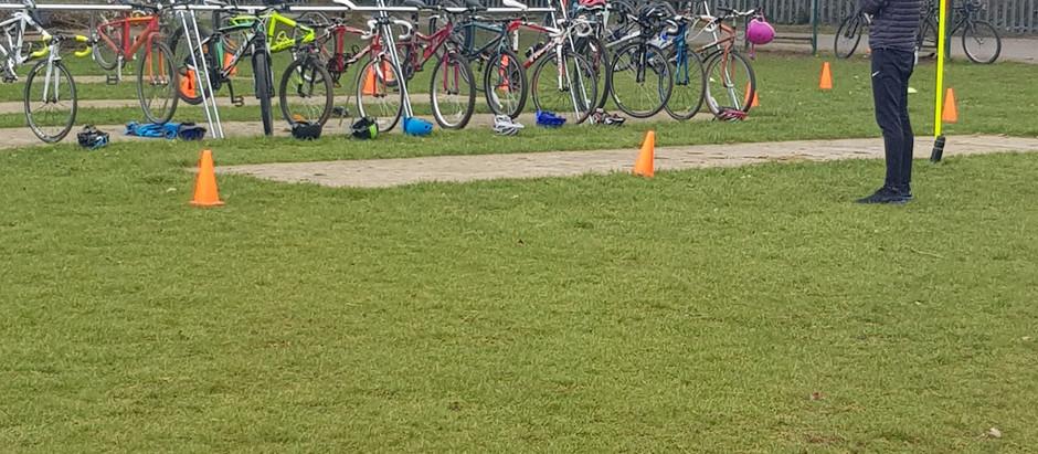 First training session for Witney Triathlon Club