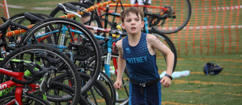 Strong showing at Bicester Triathlon.