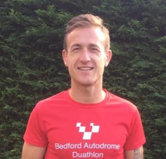 Coach Dan retains his British Duathlon title.