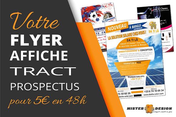 Flyer - Tract - Affiche - Prospectus