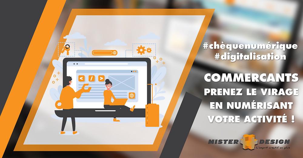 #chequenumerique #digitalisation