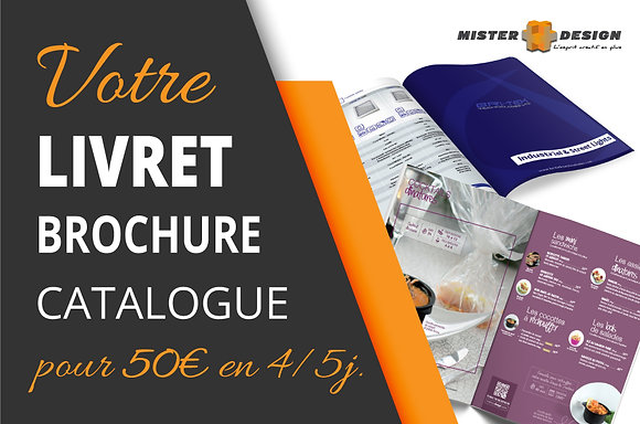 Livret - Brochure - Catalogue