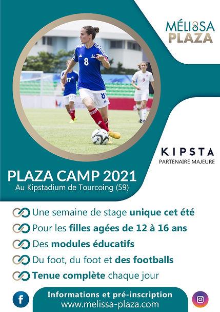 Plaza Camp 2021 avec Mélissa Plaza