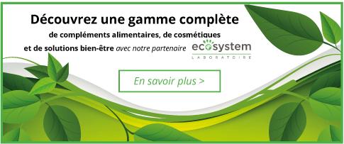 Ecosystem, une gamme complète de produits 100% naturels et français