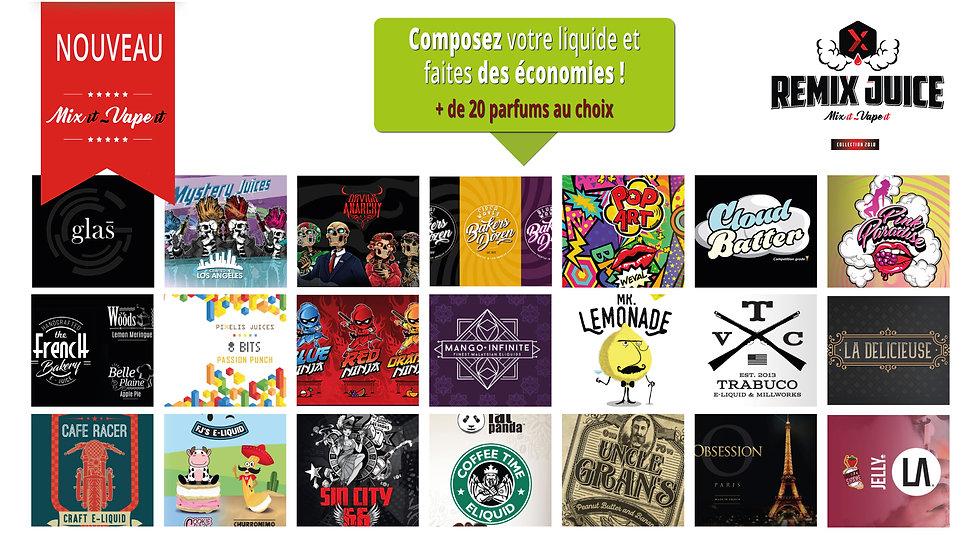 Venez composer au Tabac La Désirade à Bouaye, votre e-liquide à notre machine Remix Bar