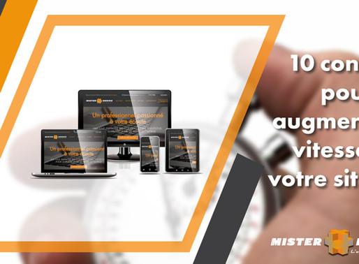 10 conseils pour augmenter la vitesse de votre site web