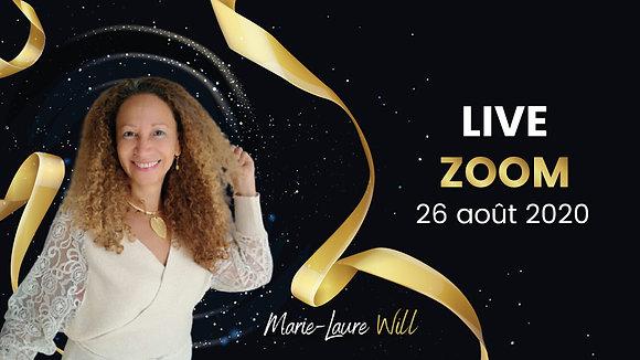 Live Zoom - 26 août 2020
