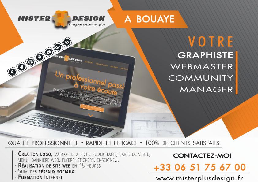 Misterplusdesign - Graphiste, Webmaster & Animateur de réseaux - Bouaye (44)