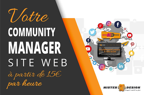 Community Manager - Site Web