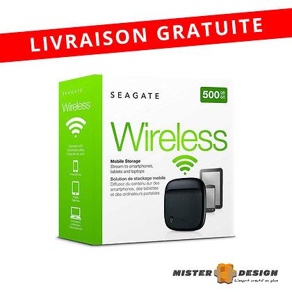 Disque dur externe SEAGATE 500Gb Wifi
