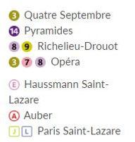 Soins, massages et mini-stages au 22, rue du 4 septembre 75002 Paris