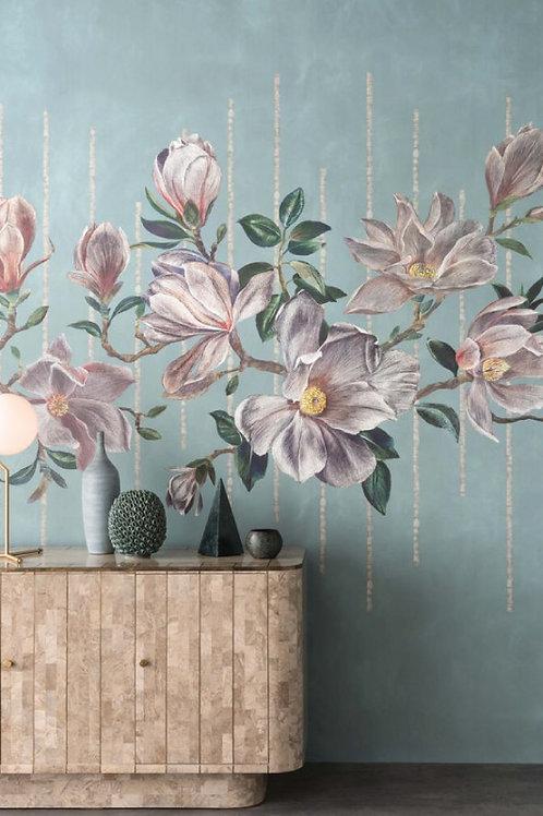 Revêtement mural Magnolia Frieze