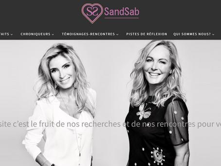 Chroniqueur pour l'hypnose du site internationale du Bien être du corps et de l'esprit: Sandsab.com