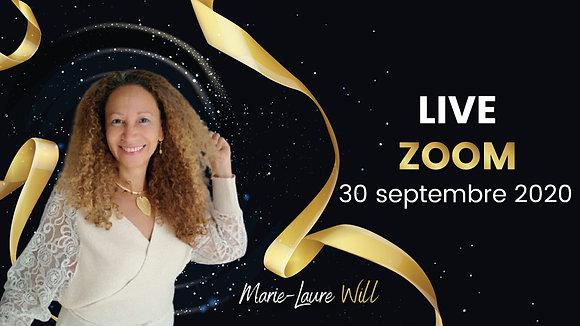 Live Zoom - 30 septembre 2020