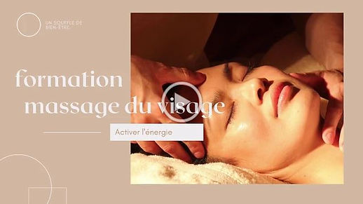 Formation massage du visage