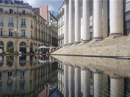Le rideau d'eau de Graslin : L'œuvre incontournable du voyage à Nantes 2020
