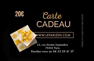 Le Pari Zen : Offrez une carte cadeau d'une valeur de 20€