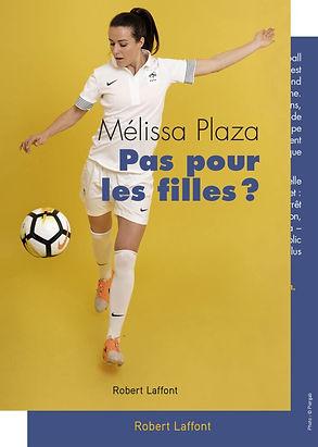 Pas pour les filles ? livre de Mélissa Plaza