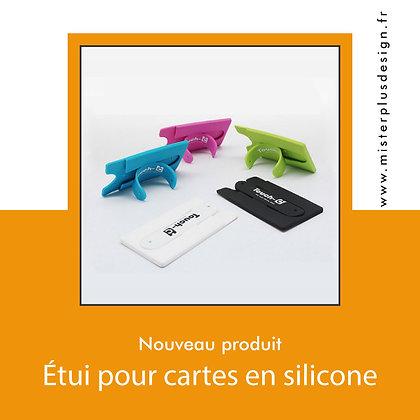 100 Etuis publicitaires carte bancaire pour téléphone