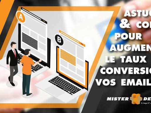 Astuces et conseils pour augmenter le taux de conversion de vos emailings