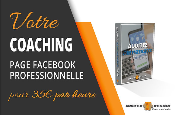 Coaching - Page Facebook Professionnelle